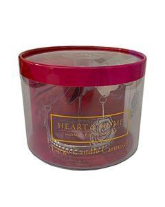CAROSELLO CON ROSE PER CANDELE GRANDI HEART & HOME