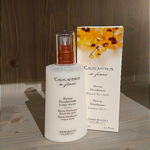 DEODORANTE SPRAY.CALICANTHUS IN FIORE AMERIGO