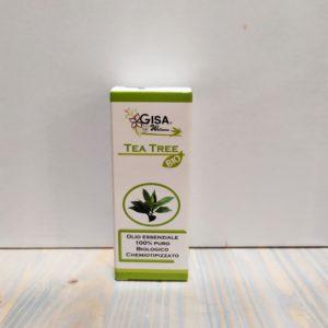 OLIO ESSENZIALE BIO10 ML. TEA TREE GISA