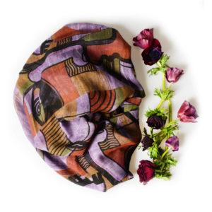 FOULARD INNBAMBOO ART COLLECTION PICASSO