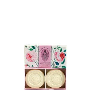 SET 2 SAPONI IN BOX 2 X 115GR LA FLORENTINA ALLA ROSA DI MAGGIO