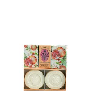 SET 2 SAPONI IN BOX 2 X 115GR LA FLORENTINA AL MELOGRANO