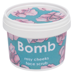 ROSY CHEEKS FACE SCRUB BOMBCOSMETICS