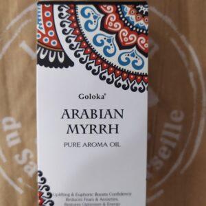 OLIO PROFUMATO PER DIFFUSORI GOLOKA-ARABIAN MYRRH