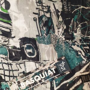 FOULARD INNBAMBOO ART COLLECTION BASQUIAT