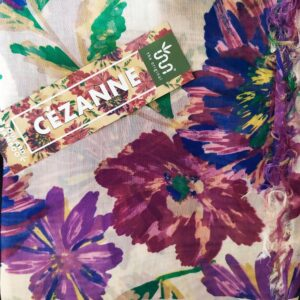 FOULARD INNBAMBOO ART COLLECTION CEZANNE