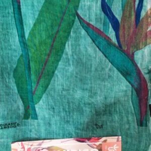 FOULARD INNBAMBOO ART COLLECTION DE CHIRICO