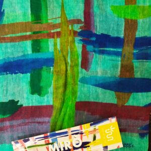 FOULARD INNBAMBOO ART COLLECTION MIRO'